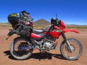 Rodney, the Honda XR125L