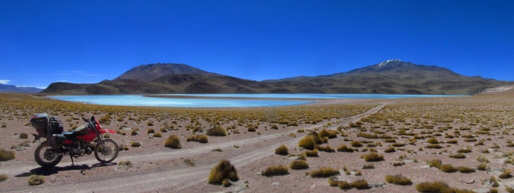 Heading to LAguna Celeste, the Lagunas Route, Bolivia